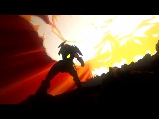 [AgnamoN] Гуррен-Лаганн, пронзающий небеса. И сердечко [Обзор аниме]