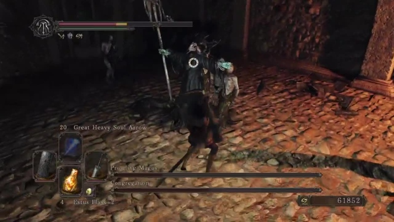 💀 Boss | Prowling Magus and Congregation 🎮 Dark Souls II Scholar of the First Sin (PS4)