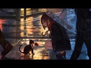 Late Night Melancholy - Girl alone in the rain ¦ chill lofi  aesthetic ¦  📚 (1 hour Loop)