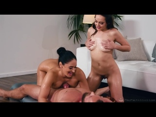 Aften Opal, Sheena Ryder - Practicing On Her Parents - Porno, All Sex, Hardcore,