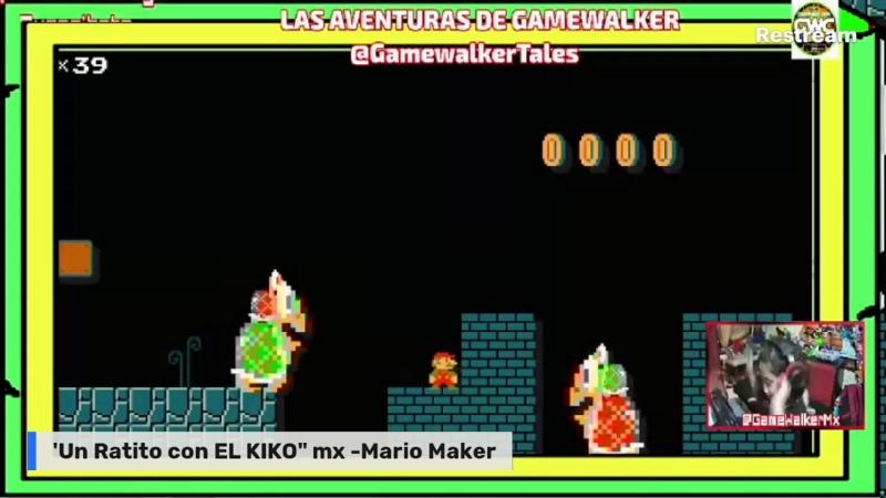 ¡Un Ratito con EL KIKO MX MARIO MAKER XD uWu