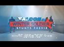 Отработка дублёрами сцены драки за щит в Соколе и Зимнем Солдате
