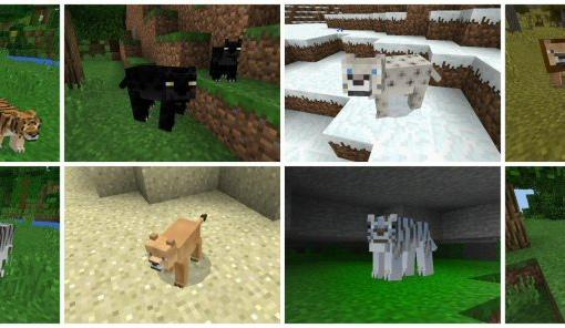 мод на животных в майнкрафт 0.16.0