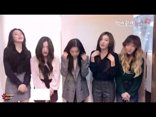 170918 Red Velvet @ XportsNews 10th Anniversary Message