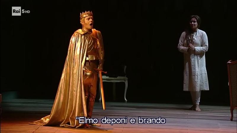 Жанна ДАрк 2 версия 1 акт вход Карла VII и кабалетта Мели