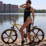 Велосипед на литых дисках + любой на выбор аксессуар в подарок по промокоду 1010!!