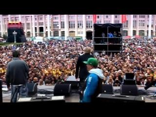 - Гек x YG - Папа, дай жвачку live (День Города, Лужники, Москва)