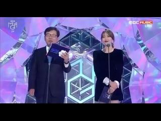 061118 BTS winning the Genie Music Popularity Award