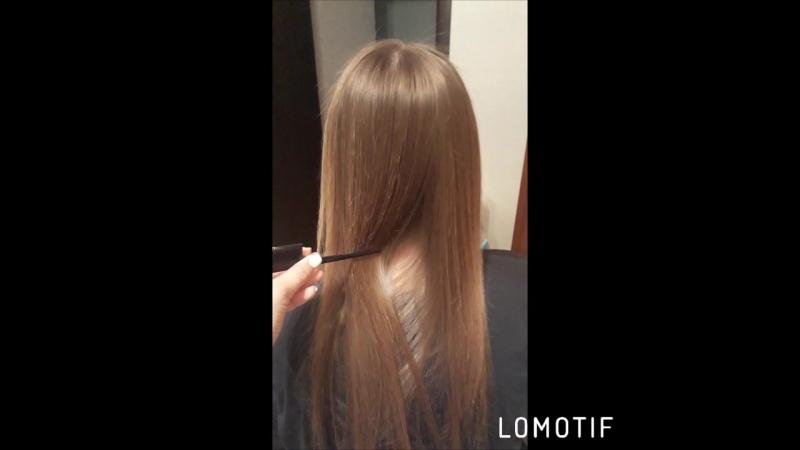 Обладательница волос очень хочет отрастить волосы Надеюсь сейчас это у нее получится ботокс докторволос набчелны