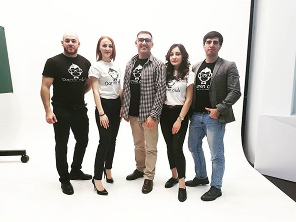 Давид Хаханов: Darvin Club Team в деле 😈
