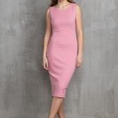 Базовое платье пудрового цвета