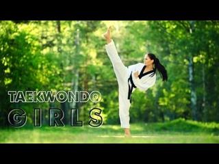 SLs - Amazing Taekwondo Girls kicks training and Fantastic Skills