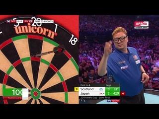 Scotland vs Japan (PDC World Cup of Darts 2019 / Semi Final)