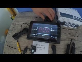 Автомобильный четырехъядерный GPS-навигатор на Android