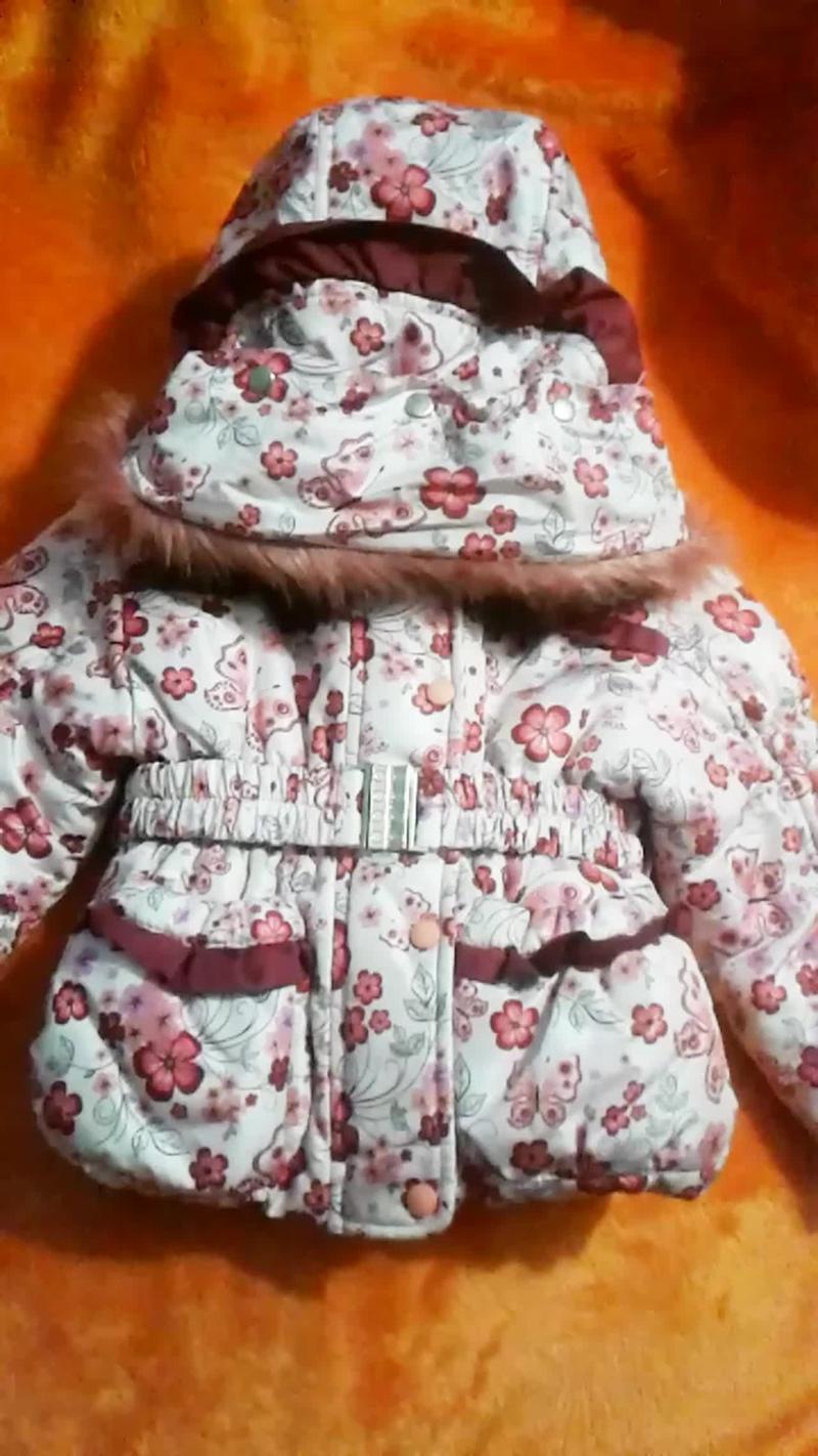 Курточка.Костюм зимний для девочки