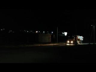 Ночная мойка дорог в Бавлах