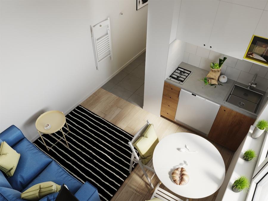 Кто там возмущался, как можно жить в 20-25-метровых студиях?