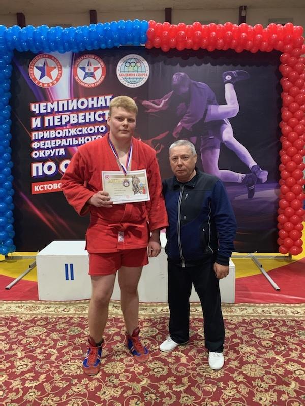 Петровчанин Михаил Шулекин выступит на первенстве России по самбо