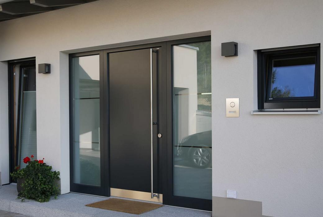 Ручка-скоба из нержавеющей стали для входной двери