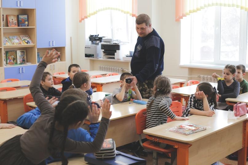 Ветераны морской пехоты провели Урок мужества в Нижнем Новгороде, изображение №6