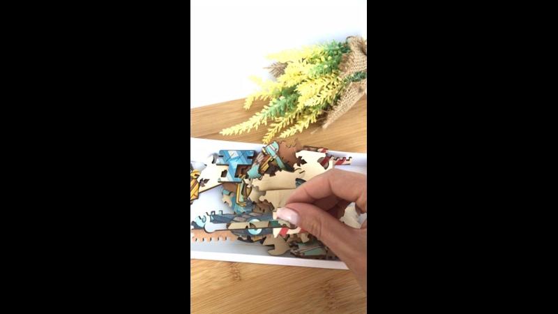 Видео от Katasei Puzzle