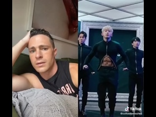 [M-town] Colton Haynes reacts to Wonho