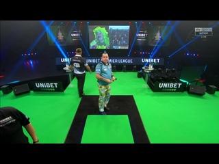 Peter Wright vs Gerwyn Price (PDC Premier League Darts 2020 / Week 12)