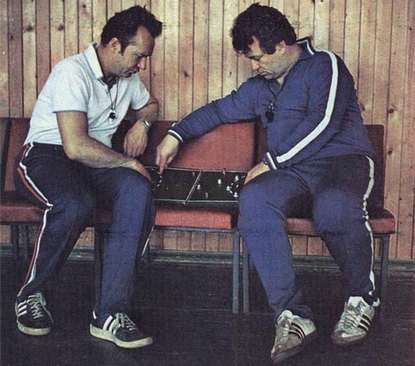 Анатолий Евтушенко и Юрий Предеха
