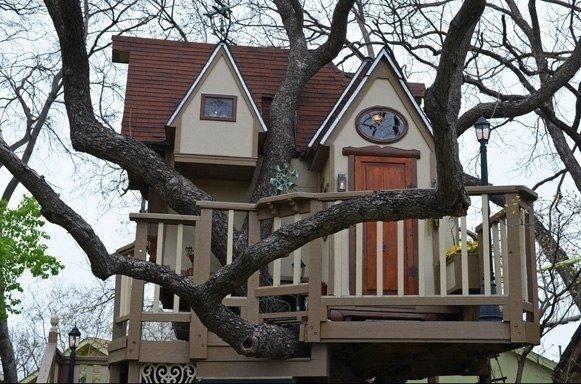 Детский домик на дереве #детскийдомик@my.stroyka