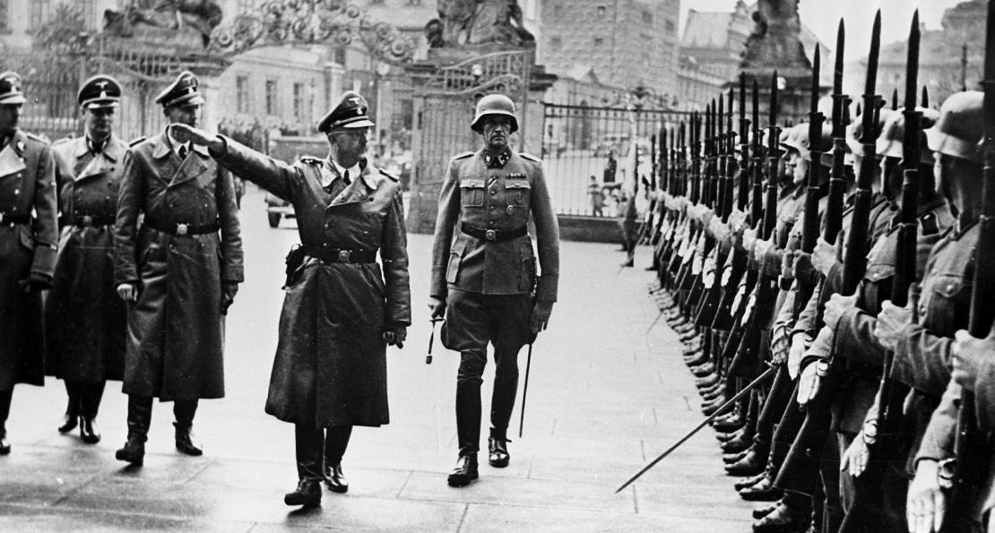 Гитлеровцы в Праге