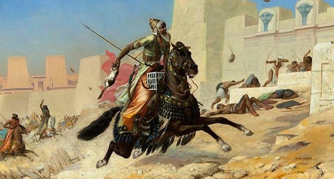 Персы у стен Пелузия