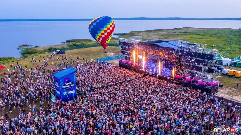 Музыка, спорт, развлечения, кемпинг, фуд-корты. Полная программа Viva Braslav Open Air