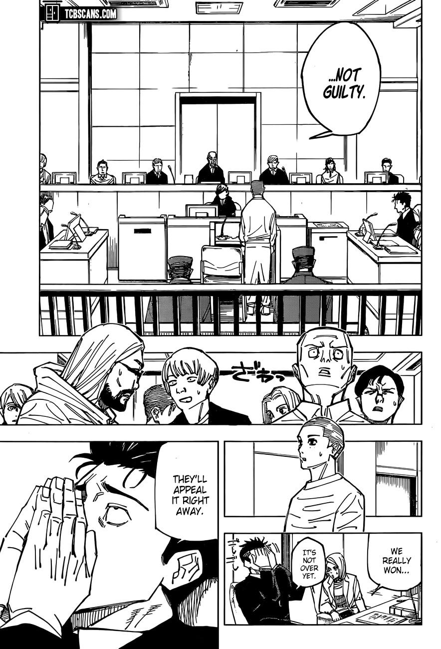 Jujutsu Kaisen Chapter 159, image №11