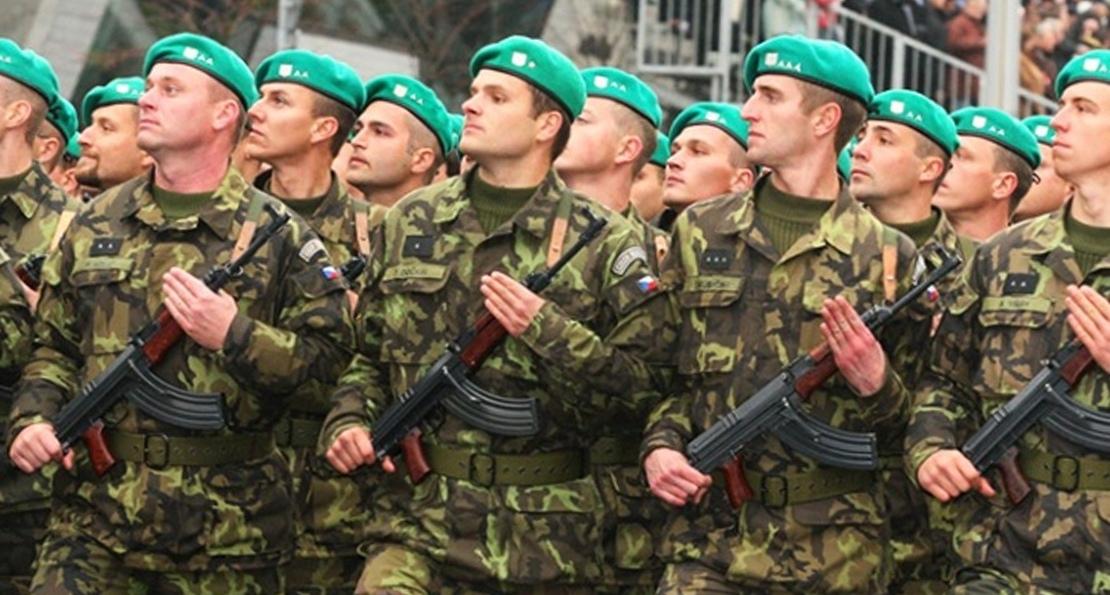 Чешские солдаты