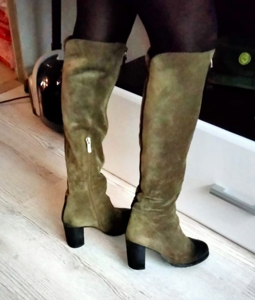 Продам обувь 36р.Сапоги зимние натур.кожа евро.мех...