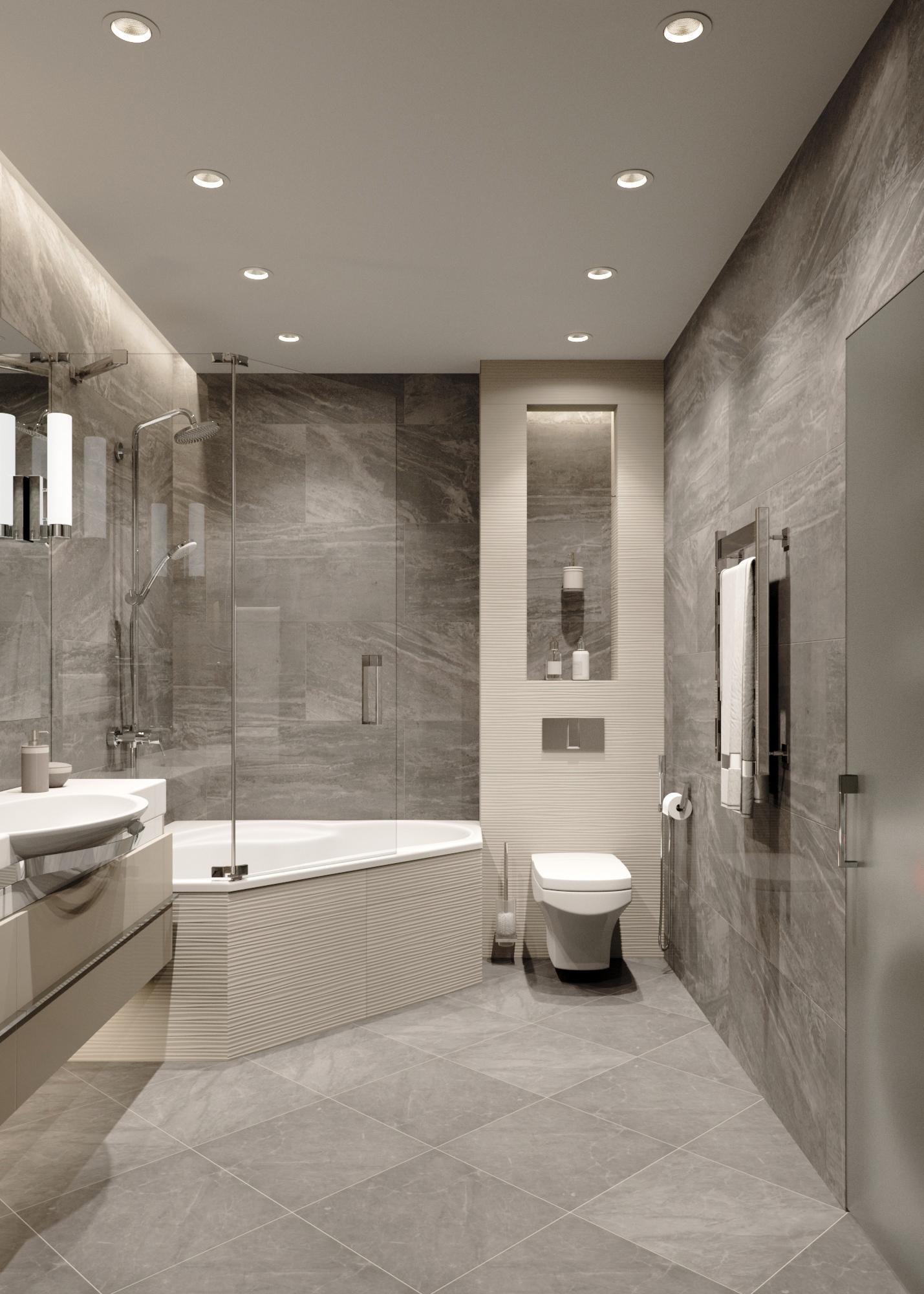 Дизайн-проект квартиры-студии 42 кв.