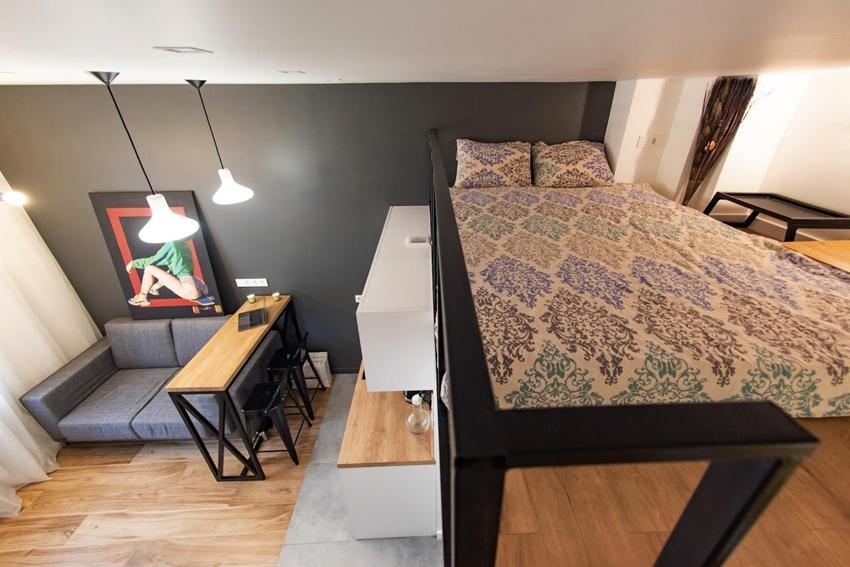 Квартира-студия 25 м в Москве.