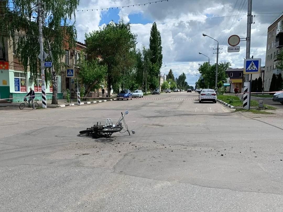 В Петровске на перекрёстке улиц Московской и Фридриха Энгельса произошло ДТП