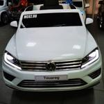 Детский электромобиль Volkswagen Touareg (DK-F666) Белый