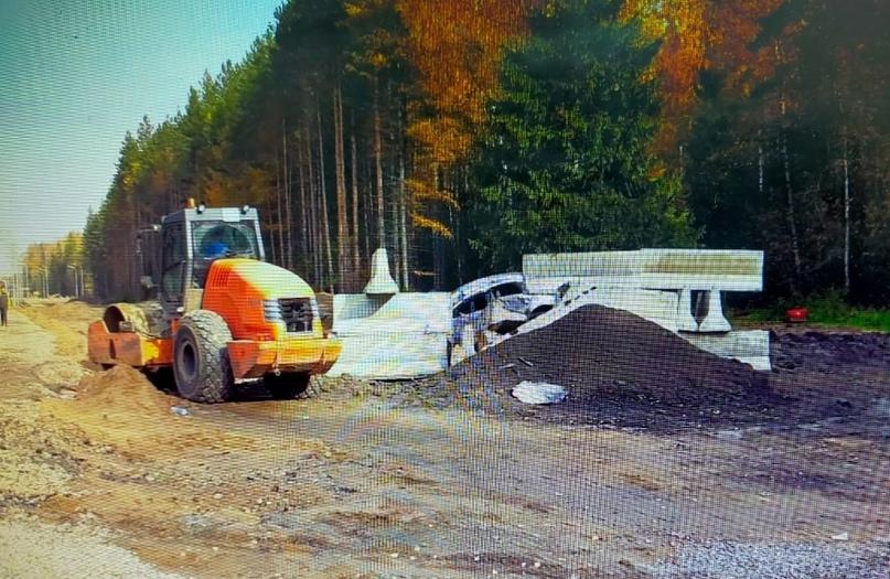 В Ивановской области 21-летний водитель въехал в бетонный блок  #ДТП случилось сегодня, 14 октября, в 10... Иваново