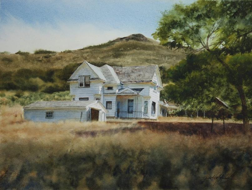 Американский художник-акварелист. Robert McFarland, изображение №26