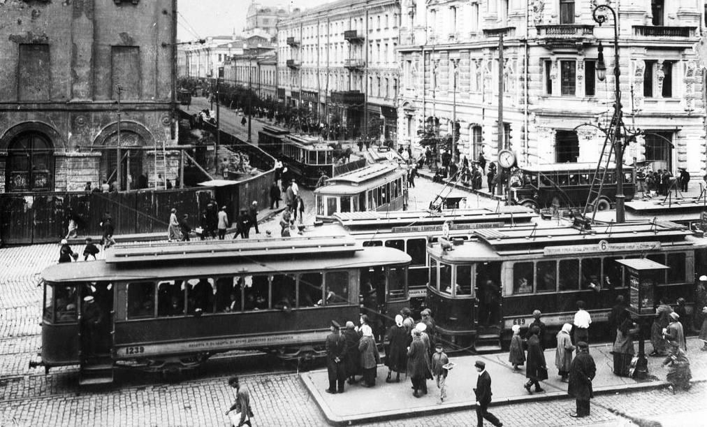 Театральный проезд и Неглинная улица, 1925 год