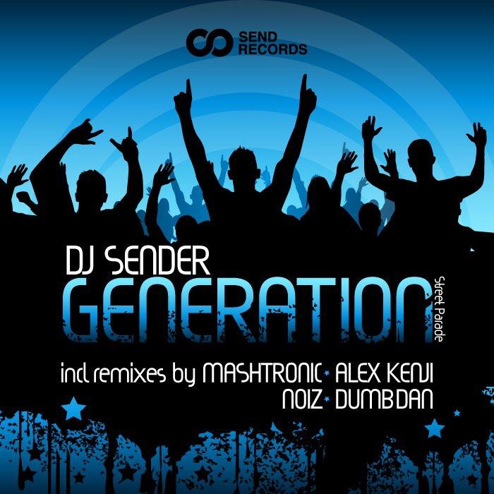 Dj Sender album Generation (Street Parade)