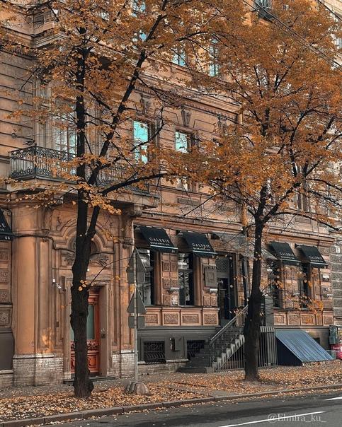 Дом княгини А.П.Львовой📍Большая Морская ул., 46...