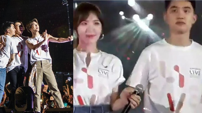 Doh Kyung Soo Held Wendys Hand OMG This Is So Cute SMTOWN SANTIAGO DAY 2 ENDING STAGES today