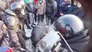 Жесткие моменты Как прошел митинг в Москве Акция протеста