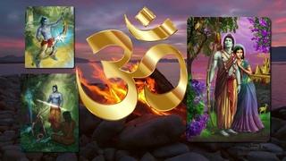 """""""Вдохновение к изучению Ведического Писания«Рамаяна»и в 21:15(GMT+3) практика пения мантры АУМ"""