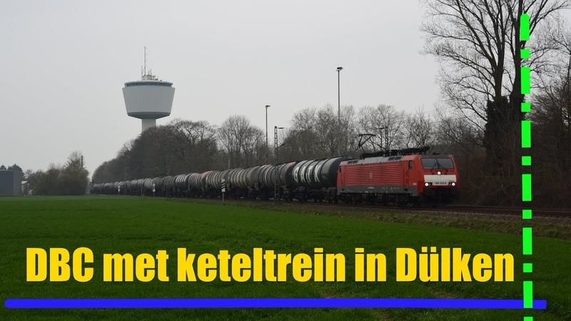 DBC 189 026 komt met keteltrein door Dülken