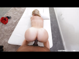 Percy - Thick Blonde Loved Her 1st BBC - All Sex Casting POV Big Natural Tits Juicy Ass Black Cock Dick Chubby Boobs Booty, Porn