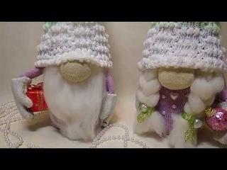 DIY Скандинавский гном за 15 минут// Как быстро сделать скандинавского гнома//Scandinavian gnomes